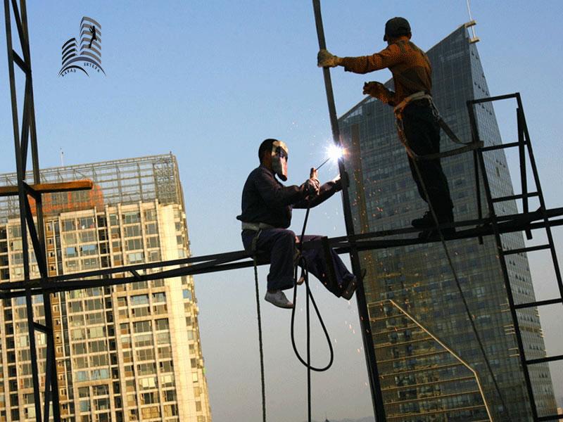 خدمات پیچ و رولپلاک ساختمان در تبریز